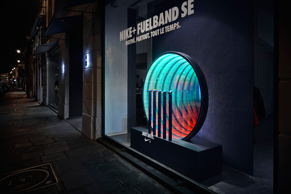 nike fuelband se at colette paris  u2014