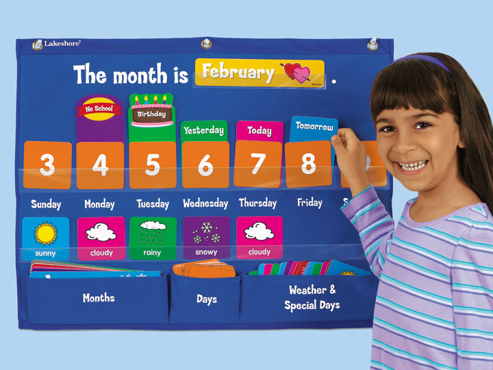 Kids Learning Calendar : Children s products vanessa
